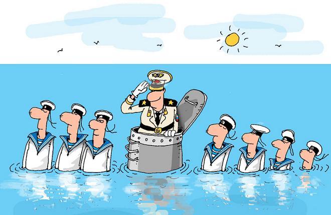Поздравление с рождением подводнику